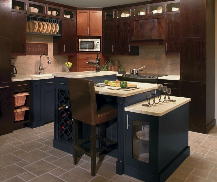 Craftsman Kitchen Oak Cabinets: Wood Cutlery Divider